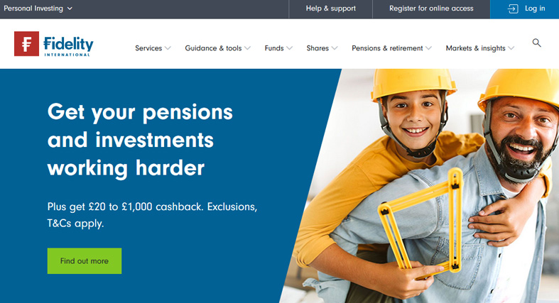 Fidelity International Website