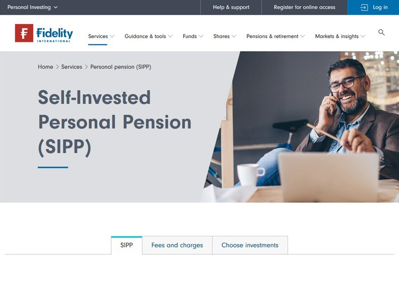 Fidelity SIPP Review