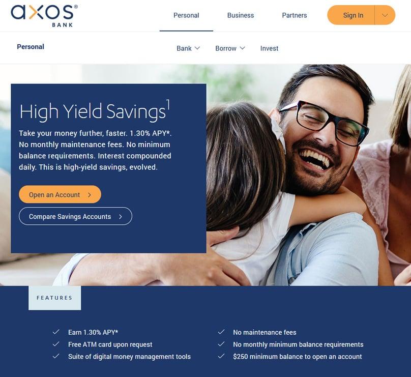 Axos Bank Savings Account