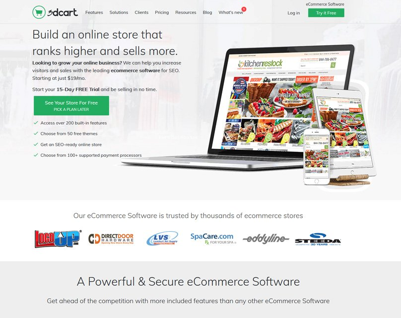 3dcart Homepage
