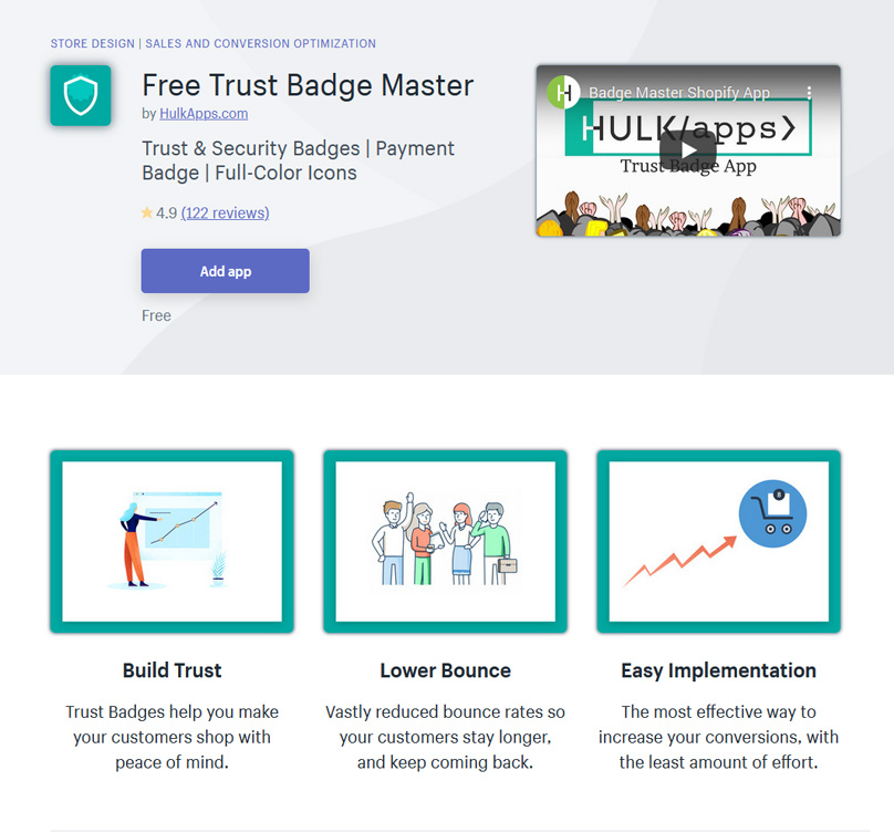 Free Trust Badge Master