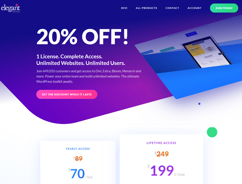 Divi Coupon Code