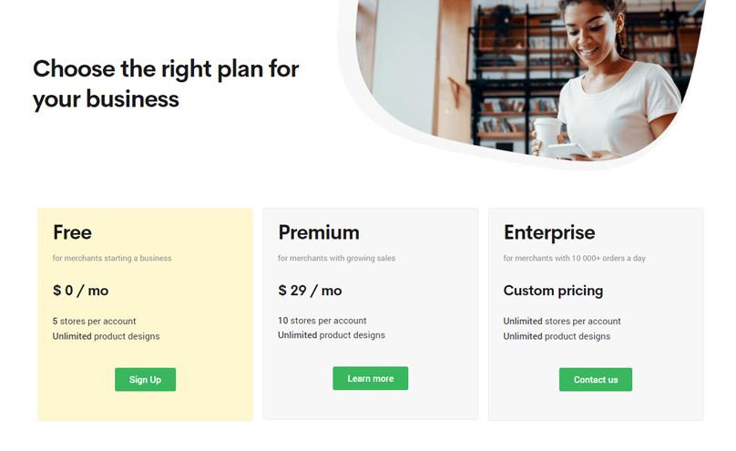 Printify Pricing Plans