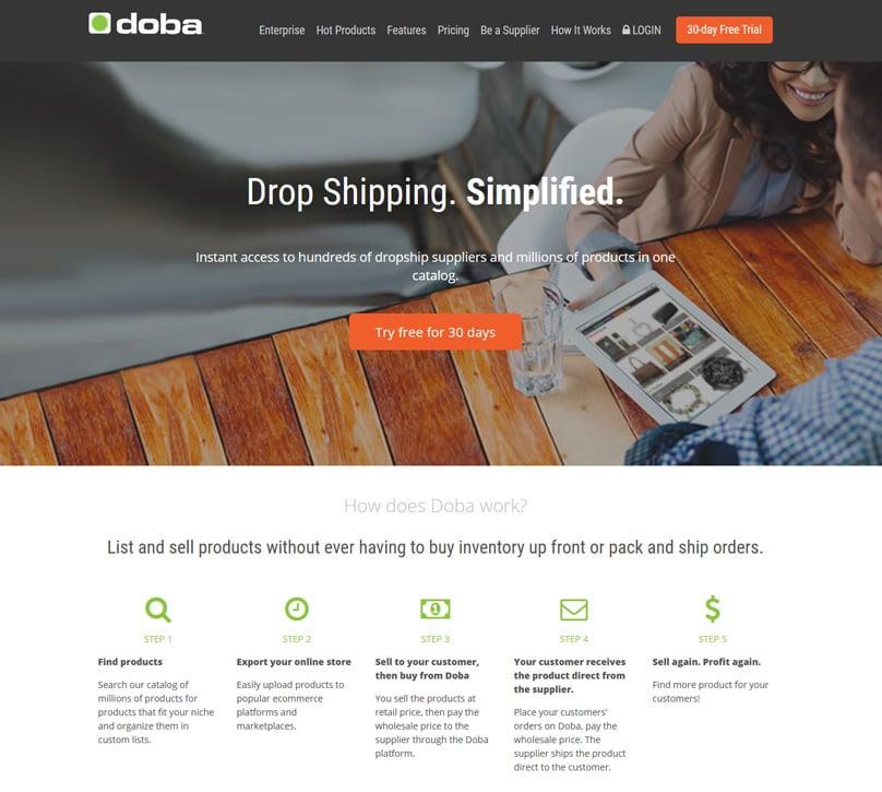 Doba Homepage