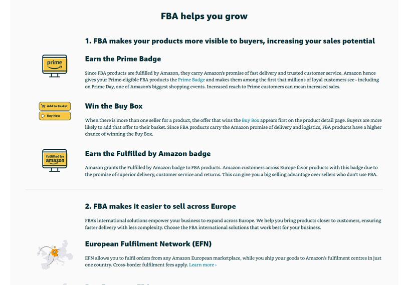 FBA helps you grow