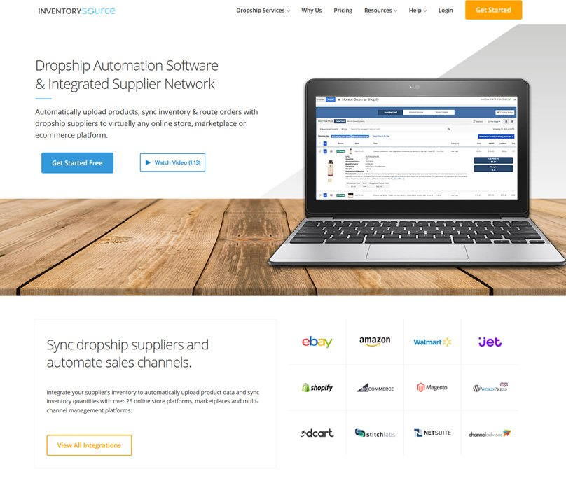 Inventory Source Homepage