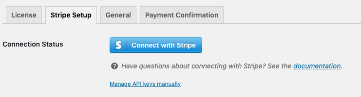 Connect your Stripe account