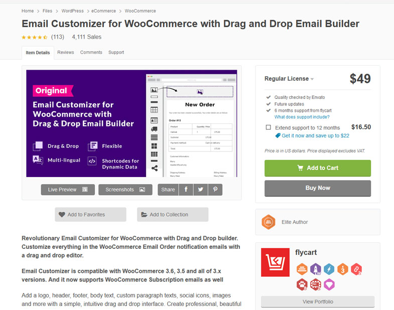 Email Customizer for WooCommerce with Drag and Drop Email Builder